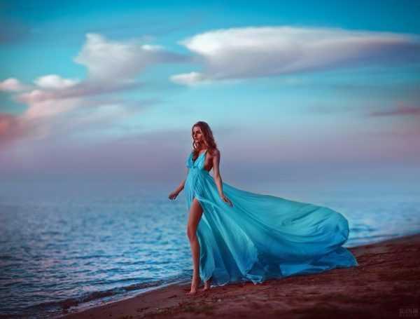Голубой любят романтические натуры