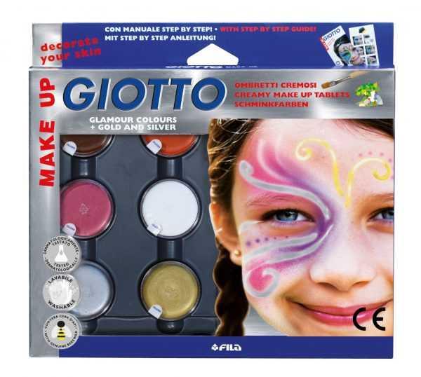 Грим-краски на восковой основе GIOTTO