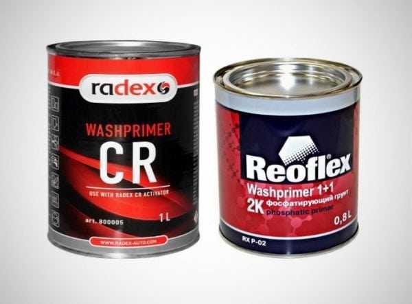 Реактивные грунты Radex CR и Reoflex Washprimer 2К