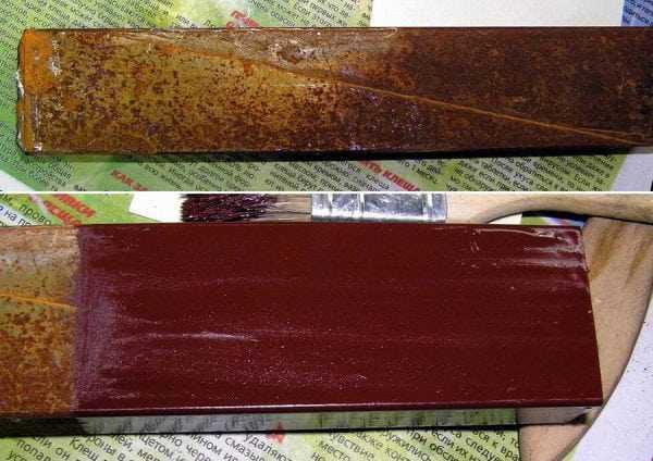 Металлические изделия покрытые ПФ-0131