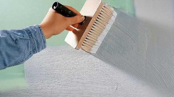 При правильной подготовке поверхности краска не потрескается