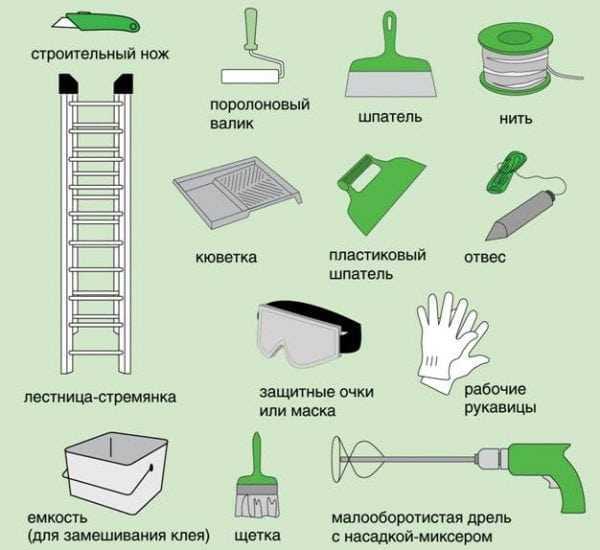 Инструменты для поклейки стеклообоев