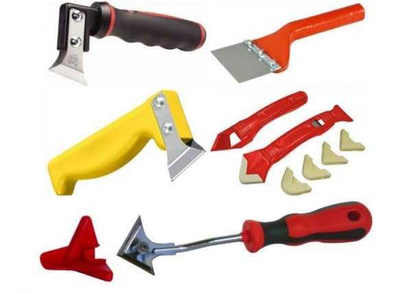 Инструменты для работы с герметиком