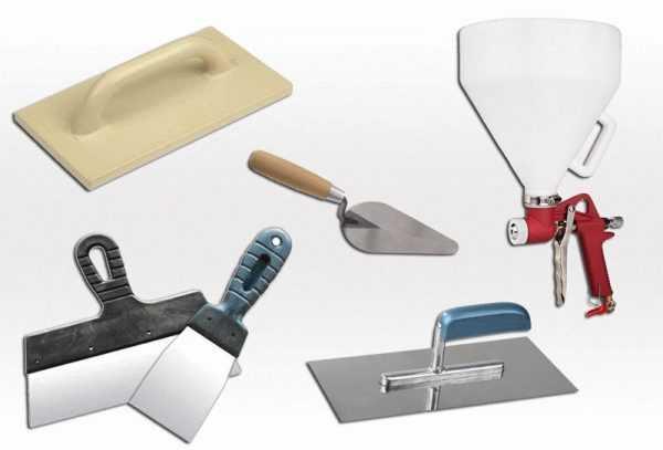 Инструменты для работы с жидкими обоями