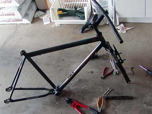 Инструменты для разборки велосипеда