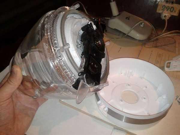 Использование герметика для ремонта электрочайника