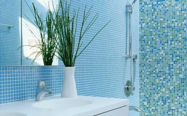 Использование голубой мозаики