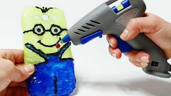 Изготовление игрушек с помощью термопистолета
