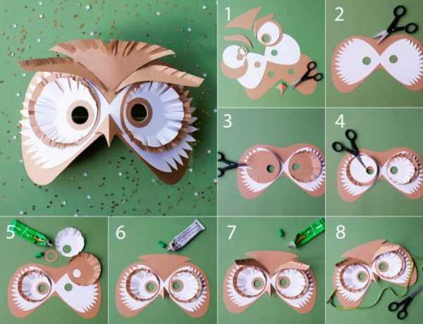 Изготовление маски Сова