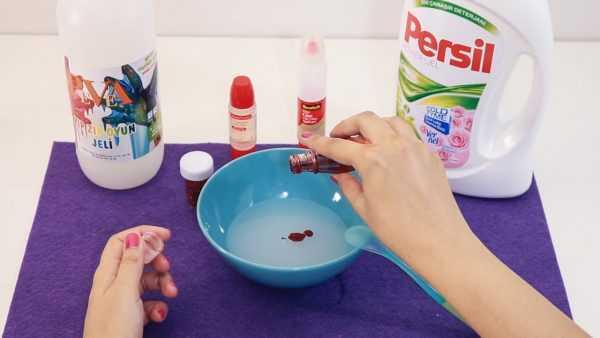 Изготовление пластилина из ПВА и средства для стирки