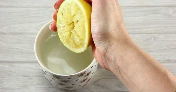 Лимонный сок для удаления пятен