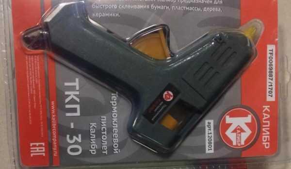 Термоклеевой аппарат Калибр ТКП 30