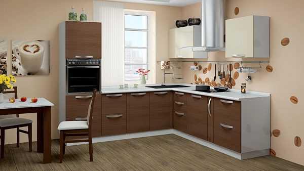 Капучино и белый на кухне