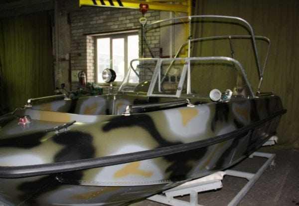 ЭП-140 подходит для покраски речных и морских судов