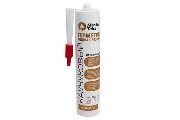 Герметик каучуковый MasterTeks Жидкая резина