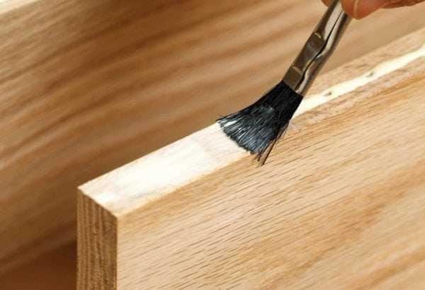 Казеиновый клей подходит для склеивания древесины