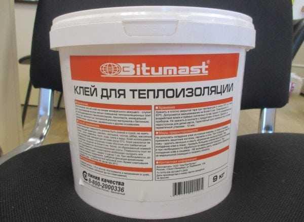 Клей для теплоизоляции Bitumast