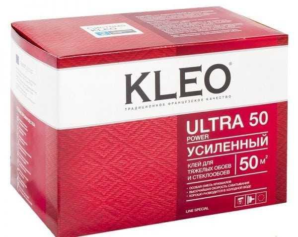 Клей для тяжелых обоев Kleo Ultra