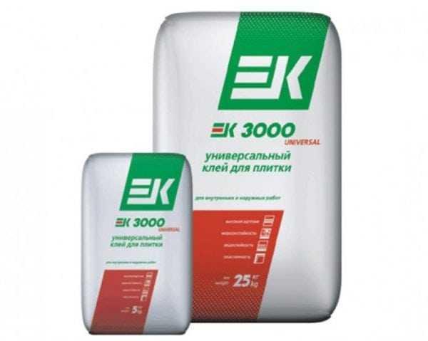 Плиточный клей EK 3000