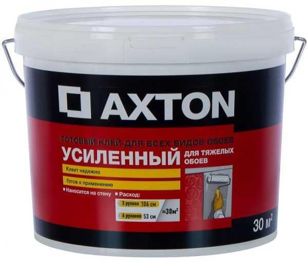 Готовый клеевой состав для тяжелых обоев Axton
