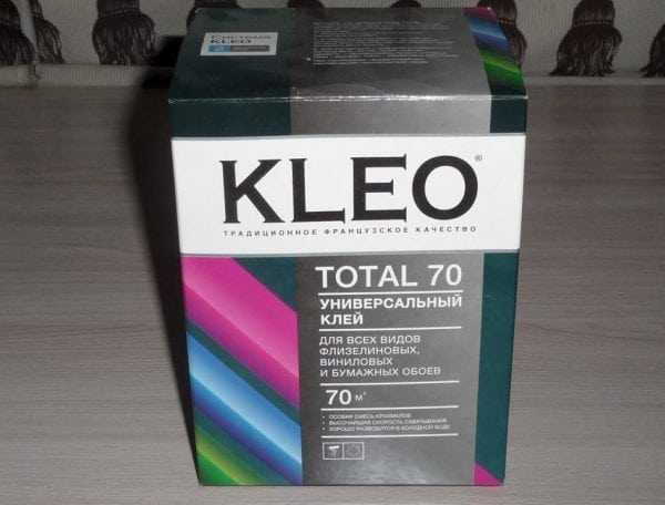 Клей для всех видов флизелиновых, виниловых и бумажных обоев