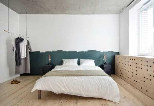 Варианты окраски стен