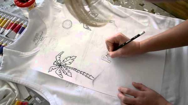 Копирование рисунка на ткань