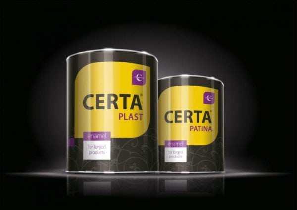 Жаростойкая краска «Certa»