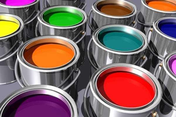 Выбор латексной краски для стен и потолка