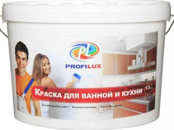 Краска Профилюкс для ванной и кухни