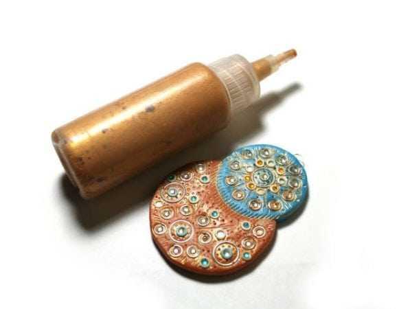 Краска и изделие из полимерной глины