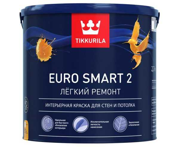 Краска латексная Tikkurila Euro 2