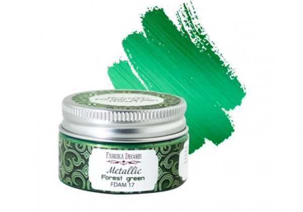 Краска Лесная зелень