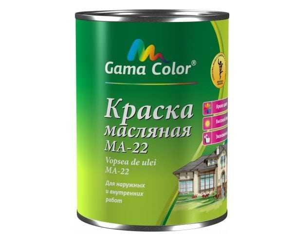 Краска масляная производства Gama Color
