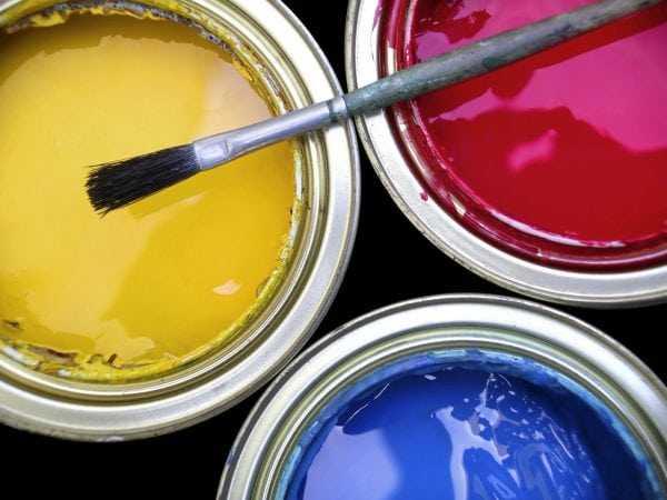 Расход при использовании акриловой фактурной краски