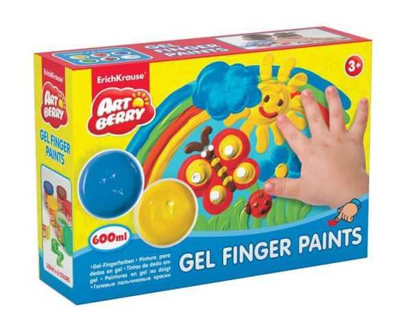 Гелевые пальчиковые краски