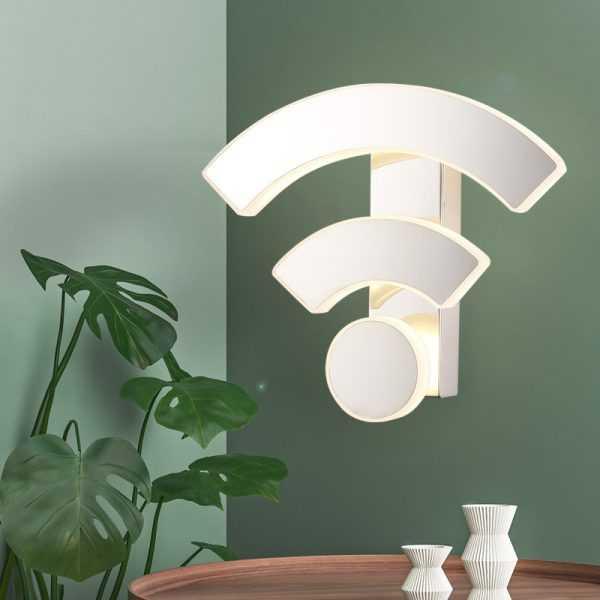 Креативный акриловый светильник в виде знака WiFi