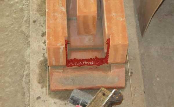 Использование при создании печи из кирпича