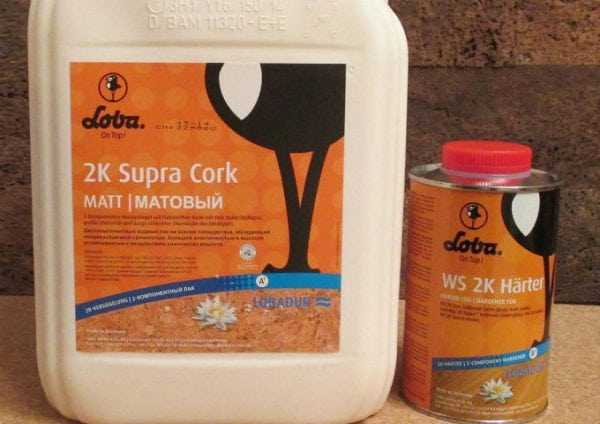 Лак Loba 2k Supra Cork 5 литров