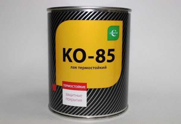 Термостойкий лак для приготовления эмали КО-814