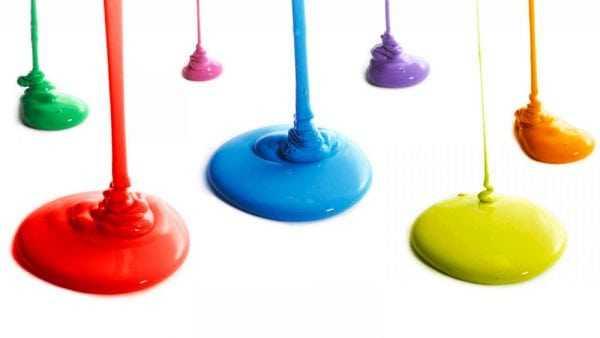 Струя краски