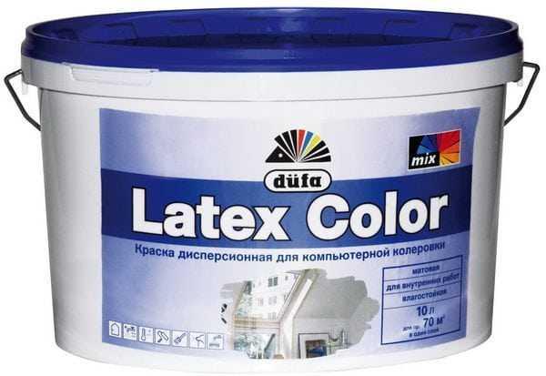 Белая латексная краска для внутренних работ
