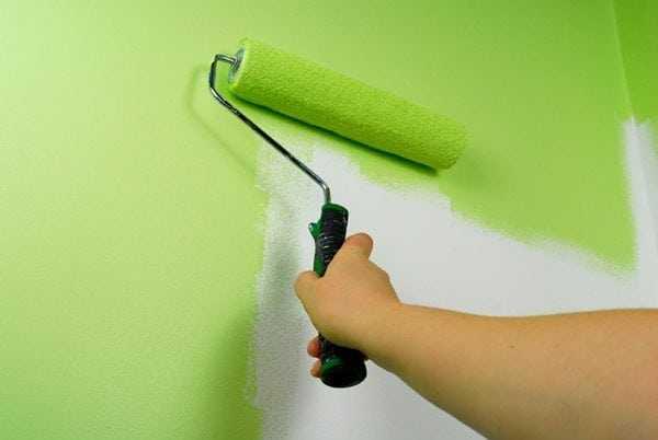 Латексная краска для стен