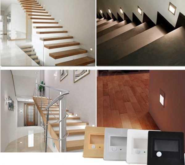 LED-прибор для подсветки лестниц