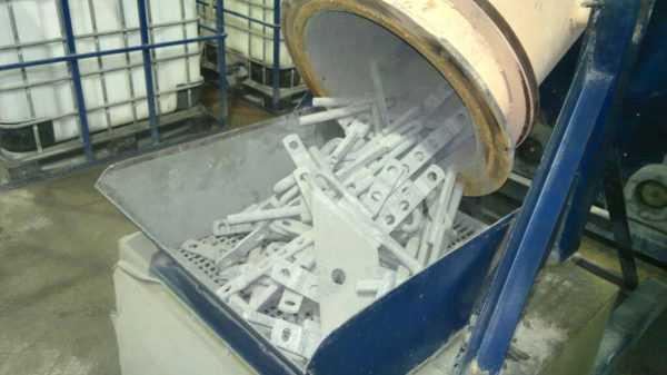 Технология термодиффузионного покрытия металлических деталей цинком