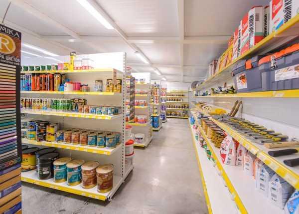 Магазин по продаже краски