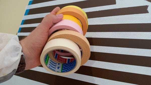 Малярный скотч для работ с краской