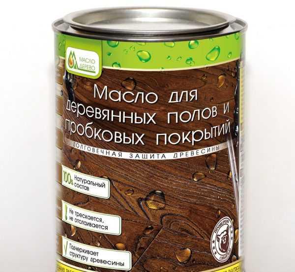 Масло для пробковых покрытий