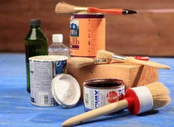 Материалы и инструменты для покраски шин