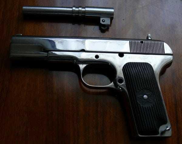 Матирование оружия